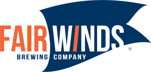 fair winds logo flat blue