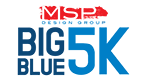 Big Blue 5K Logo