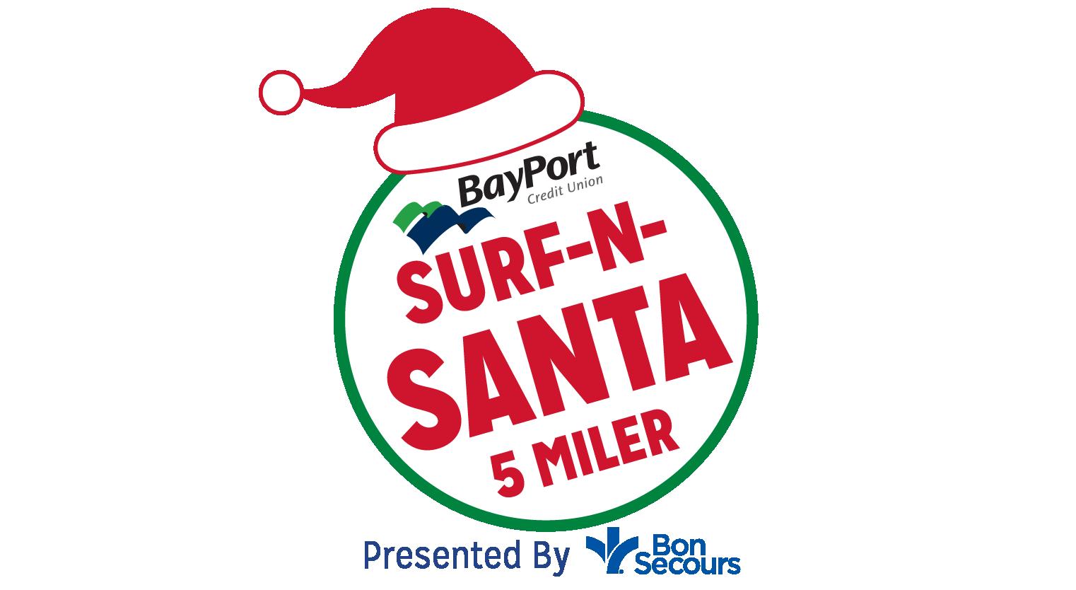 Surf-n-Santa 5 Miler
